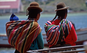 mujeres titicaca